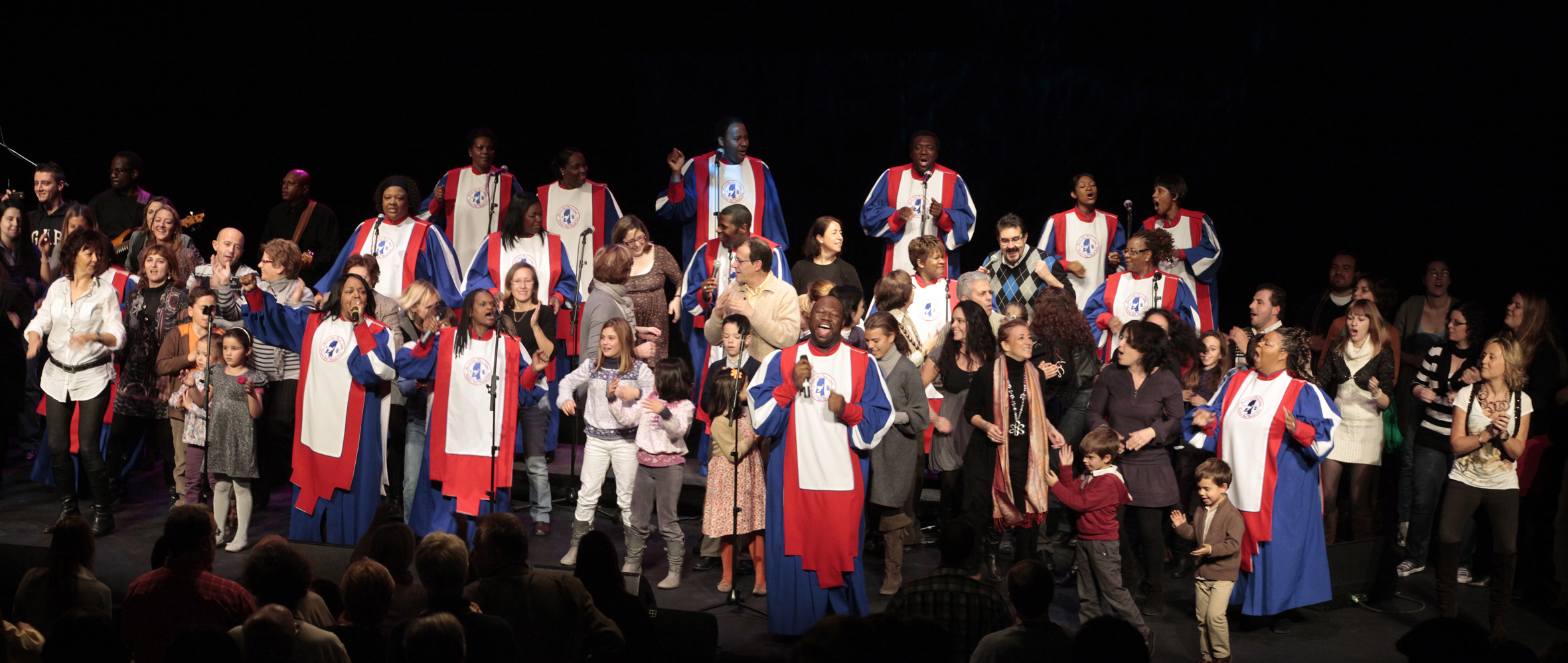Masterclass impartida por The Mississipi Mass Choir