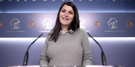 Macarena Olona es abogada del Estado y fue negociadora de los gobiernos de derechas tras el 26-M. / EP