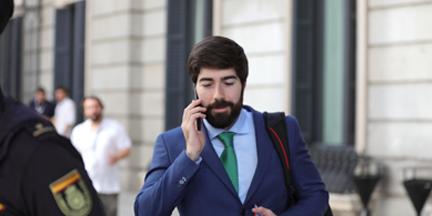 Manuel Mariscal es responsable del éxito en redes del partido. /EP