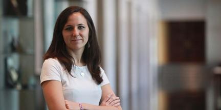 En Unidas Podemos se valora mucho la labor de Ione Belarra en el grupo parlamentario. / AP