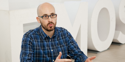 Nacho Álvarez está detrás de los programas económicos de Podemos. / Álex Puyol