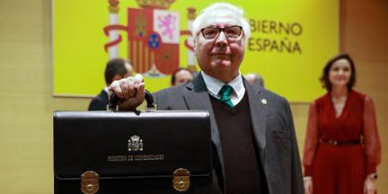 Castells es el único ministro de UP del mundo académico. / EP