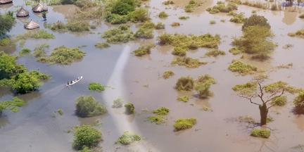 Las inundaciones están consideradas como uno de los riesgos extremos más probables en diez años. / EUROPA PRESS