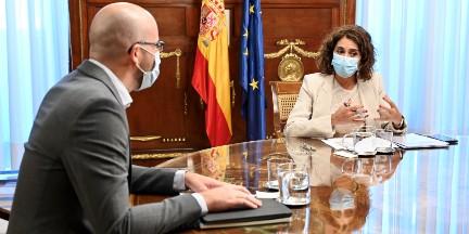 María Jesús Montero y Nacho Álvarez ya han comenzado las negociaciones para elaborar el proyecto de Presupuestos. / EP