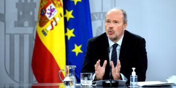 """Para enfado de Unidas Podemos, Juan Carlos Campo explicaba hace unos días que se está trabajando en la reforma del delito de sedición, pero que no hay """"fecha exacta"""". / EP"""