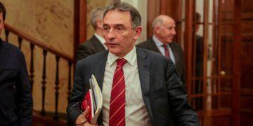 Enrique Santiago es uno de los dirigentes más cercanos a Iglesias. / EP