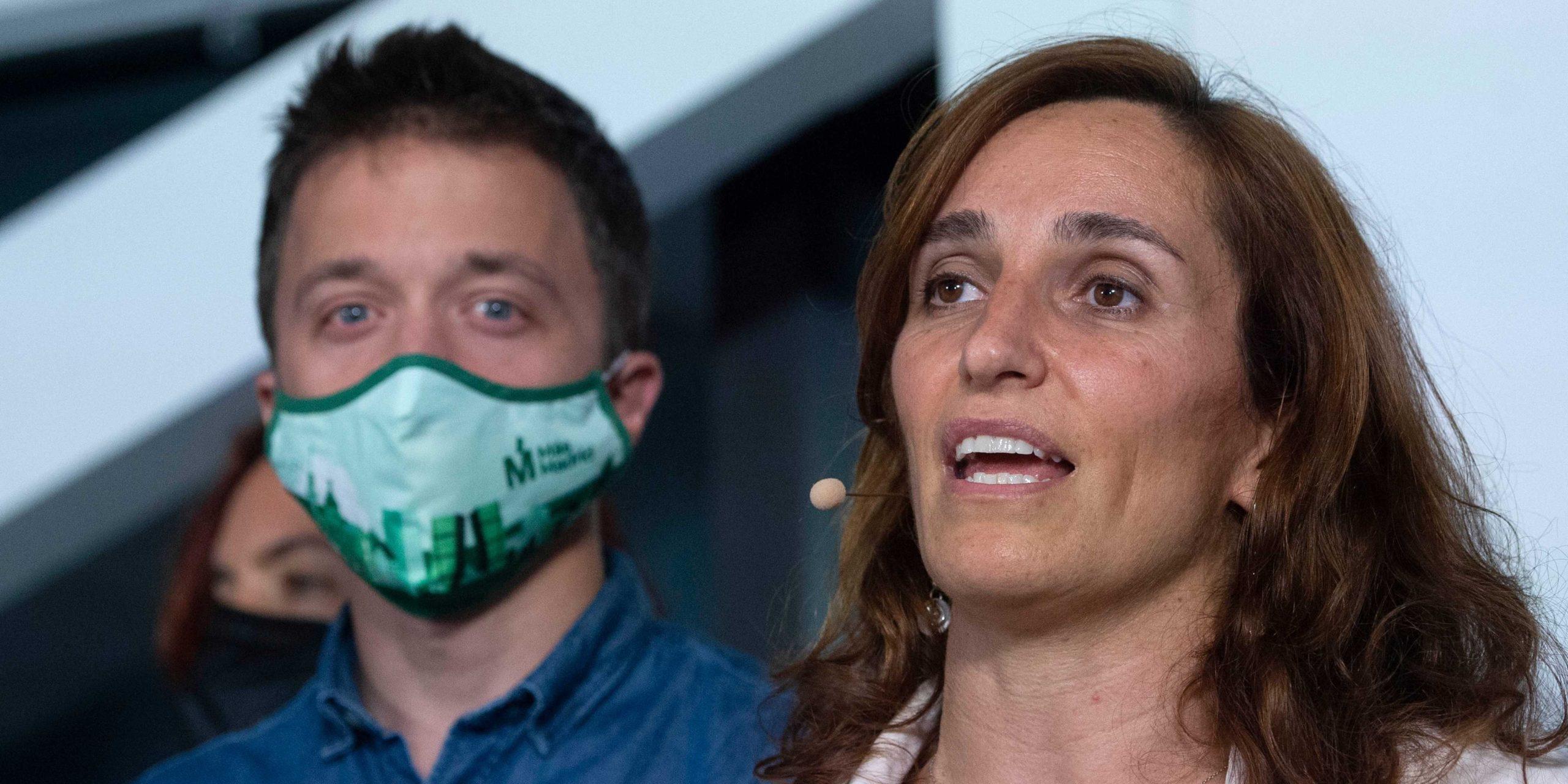 Mónica García ha mejorado los resultados de Iñigo Errejón hace dos años. / EP