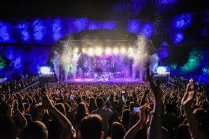 Concierto en ediciones pasadas del Festival Starlite de Marbella, con más aforo que el actual // Starlite