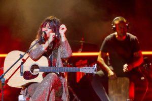 Vanesa Martín durante su concierto en el Stone & Music Festival en 2019 // Stone & Music Festival