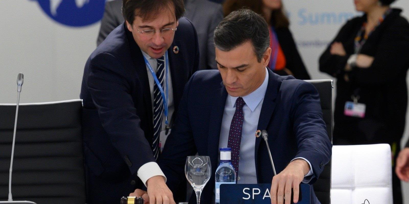 José Manuel Albares ejerció de sherpa de Sánchez en las cumbres internacionales en la pasada legislatura. / EP