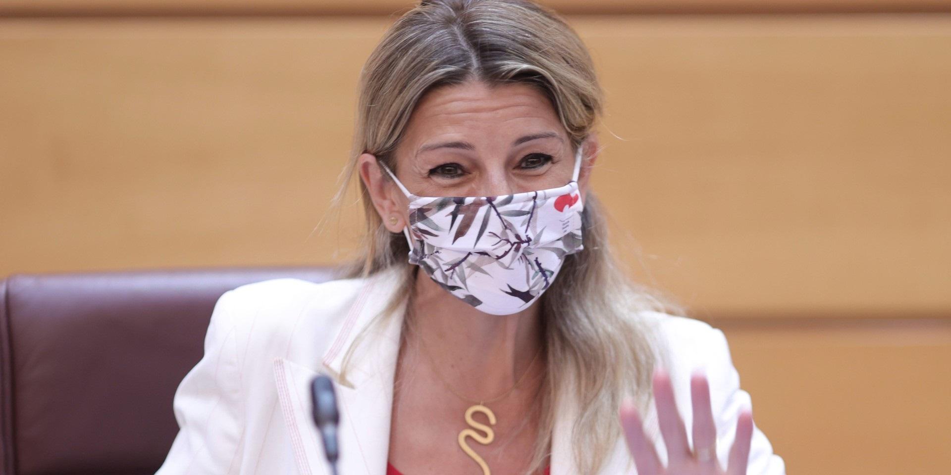 La remodelación de los ministerios de Unidas Podemos sólo puede hacerse de común acuerdo con Yolanda Díaz. / EP