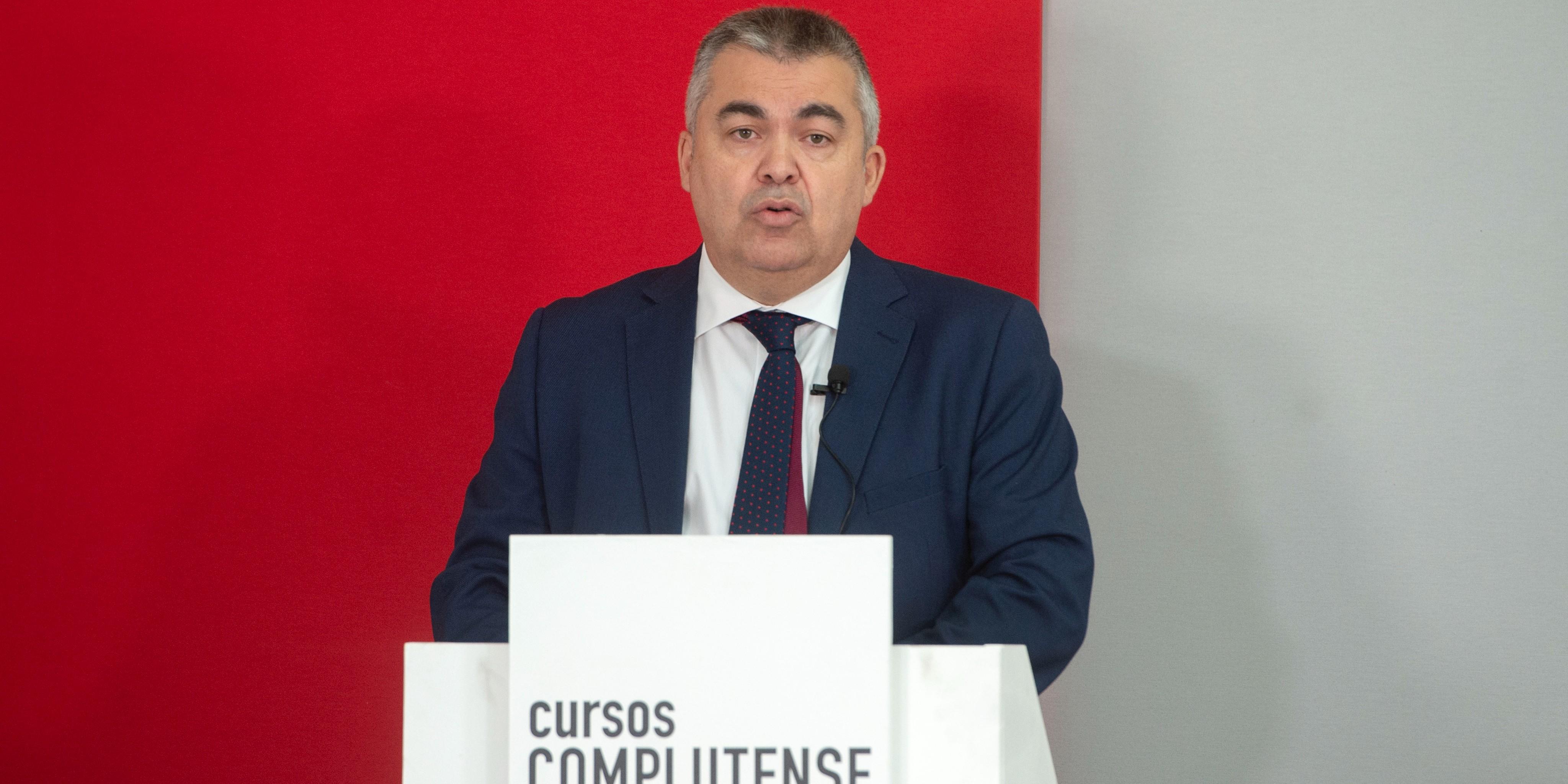 Santos Cerdán ya ejerce como secretario de Organización. / EP