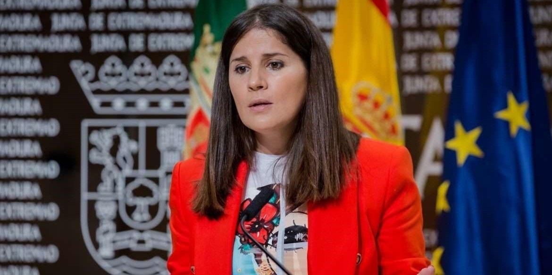 Isabel Gil es la portavoz del Ejecutivo extremeño y gran favorita para suceder a Guillermo Fernández-Vara. / EP