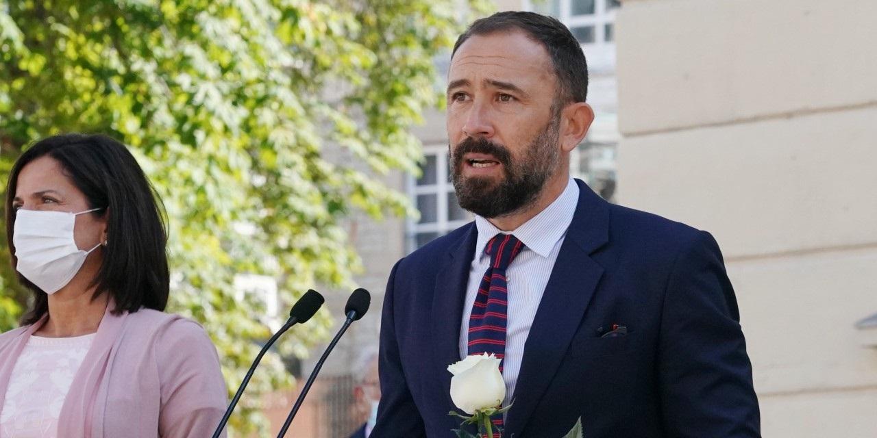 Denis Itxaso ha tenido que afrontar los homenajes a presos de ETA desde su puesto de delegado del Gobierno en Euskadi. / EP