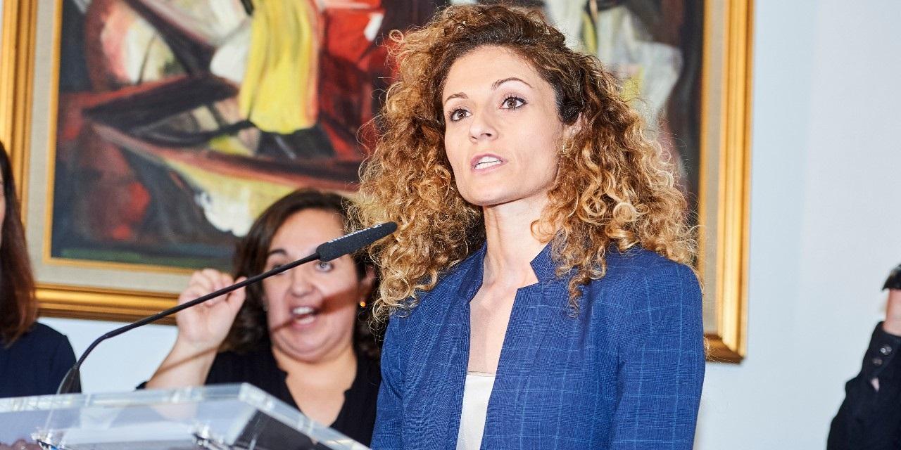 Ainoa Quiñones es delegada del Gobierno en Cantabria y pareja de Sergio Tezanos, hijo del responsable del CIS. / EP